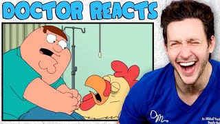 Doctor Reacts To Family Guy Medical Scenes