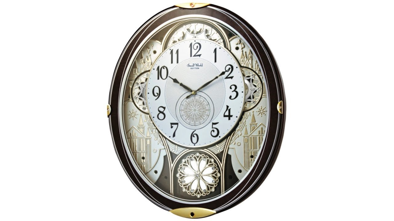 Gala Wood Motion Wall Clock