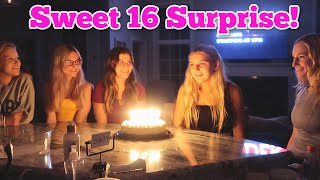 EMBARRASSING Sweet 16 BIRTHDAY SURPRISE!