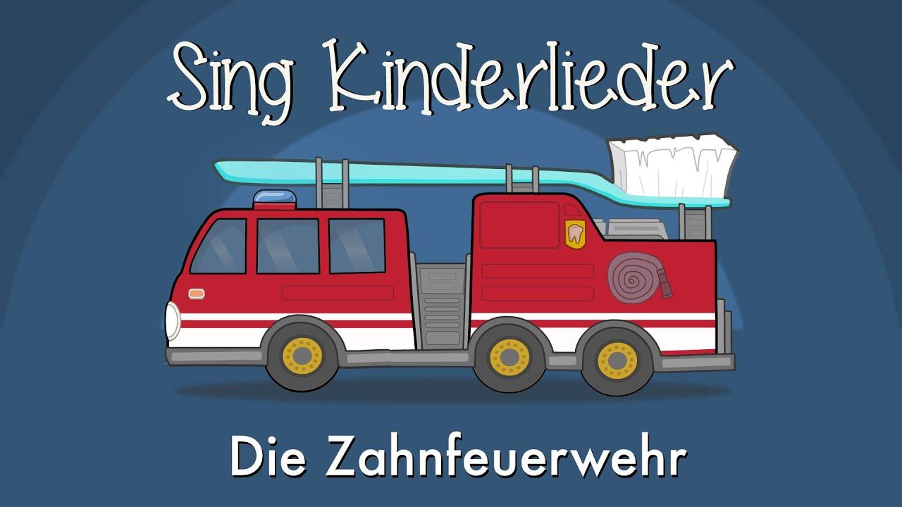 Das Kinderlied Die Zahnfeuerwehr (Tatü-tata) von Sing Kinderlieder