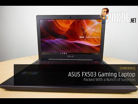[UNBOXING] ASUS FX503 Gaming Laptop