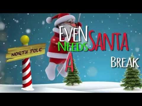 Even Santa Needs a Break Sometimes (Lyric Video)