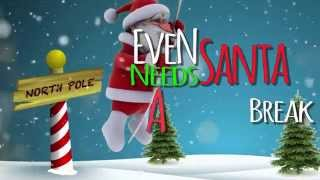"Bowling For Soup - ""Even Santa Needs A Break Sometimes"" Lyric Video"
