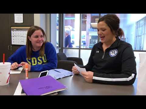 Rabbit Food   Trivia Tuesday   Students' Association's Taylin Albrecht and Scott Simons
