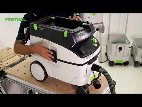 Festool TV - gamma aspiratori in classe L, M e H