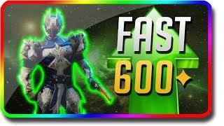 Destiny 2 - How To Power Level Fast & Rank Up Fast 600 Power (Destiny 2 Forsaken Milestone Strategy)