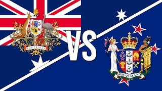🇦🇺 Australian National Anthem vs. New Zealand National Anthem! 🇳🇿