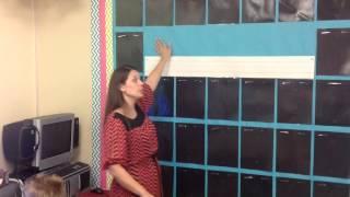 Classroom Reveal (part1) World's Fastest Bulletin Board