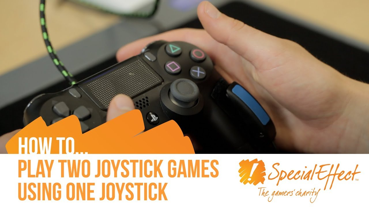 video placeholder for How to Play Two Joystick Games using One Joystick with an XAC and Titan Two