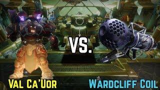 Destiny 2- Wardcliff Coil vs Val Ca