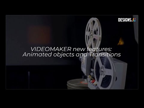 Designs.ai Videomaker   Animation and Cool Video Transition with Video Maker