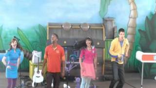 fresh beat band live sesame place nickelodeon part 5 0f 9