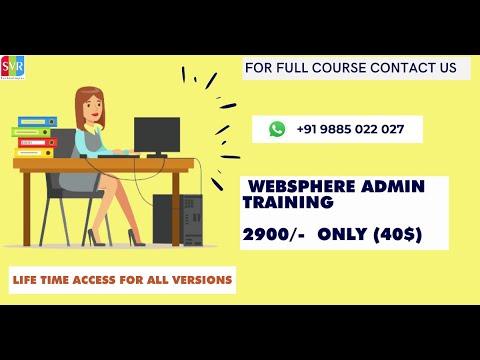 websphere application server training || IBM WAS - YouTube