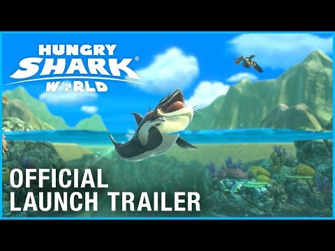 Hungry Shark World: Launch Trailer | Ubisoft [NA] thumbnail