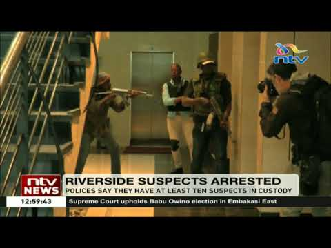 Police say they have at least ten Dusit attack suspects in custody