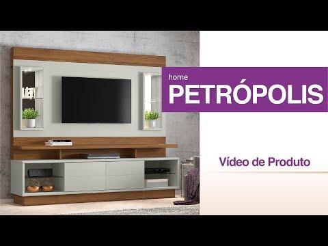 Miniatura do Video - HOME LINEA BRASIL PETROPOLIS - OFF WHITE/NOGUEIRA