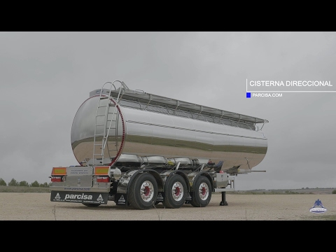 Steering tank semi-trailer
