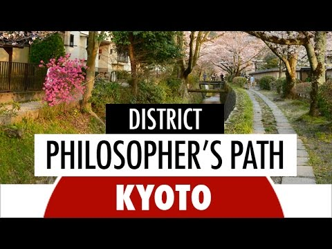 District - Philosopher's Path in Kyoto