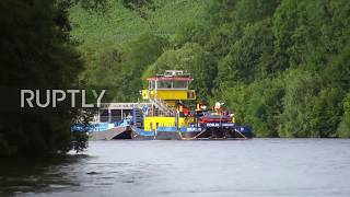 Germany: Nuclear waste transport underway despite protests