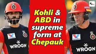 Watch: Kohli & ABD steals the show at Chepauk ahead of facing CSK | IPL 2019