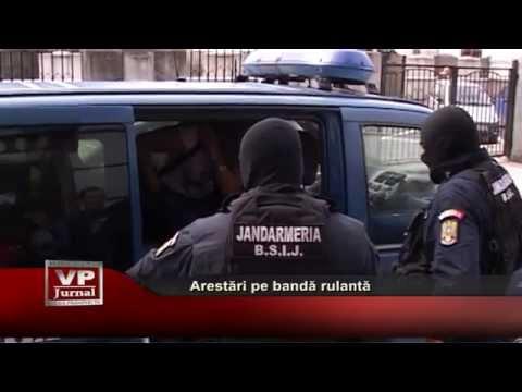 Arestari pe banda rulanta