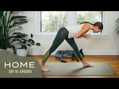 Home – Day 10 – Ground | 30 Days of Yoga With Adriene