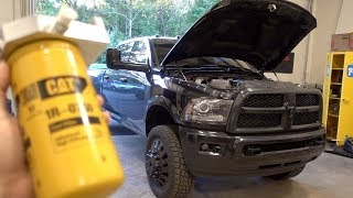 CAT Filters on my CUMMINS!!! Here's HOW!!!