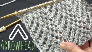 Arrowhead Lace Stitch