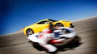 Supercars are toy for motorbikers Video