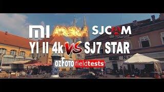 Xiaomi Yi II 4k VS Sjcam Sj7 Star Fieldtest Footage