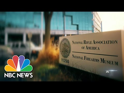 New York AG files Lawsuit To Dissolve NRA For Fraud | NBC Nightly News