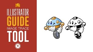 HOW TO TURN ANY IMAGE INTO A VECTOR - Illustrator Live Trace Tool Guide