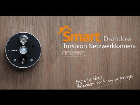 IC-6220DC- Smarte Drahtlose Türspion Netzwerkkamera