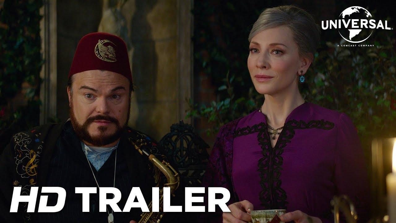 O Mistério do Relógio na Parede | Jack Black enfrenta um mundo mágico em novo trailer