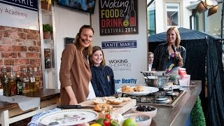 preview picture of video 'Woking Food and Drink Festival 2014'