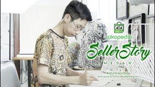 Tokopedia Seller Story Medan, Doodle Art DWSkellington
