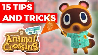 15 ADVANCED tips for your Animal Crossing: New Horizons island