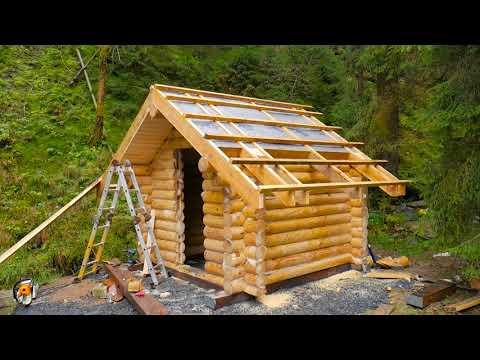 Timberteam Blockhaus Gartensauna selber bauen