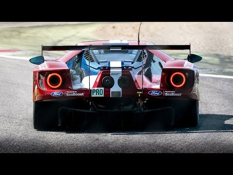 2018 Ford GT LM in action: WEC GTE & IMSA GTLM cars testing at Monza!