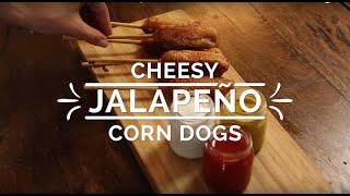Cheesy Jalapeño Corn Dogs - Hispanic Kitchen