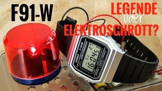 """Casio F91-W """"Die Casio schlechthin!"""" Review deutsch"""