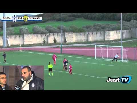 immagine di anteprima del video: GINOSA-CRISPIANO 1-1 Non bastano novanta minuti di assedio alla porta del Crispiano per vincere