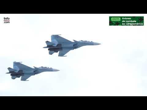 Así son los cazas Su-30 de Venezuela