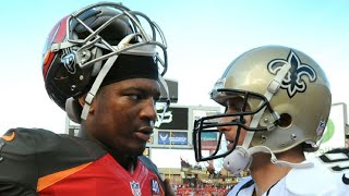 """Drew Brees Telling Jameis Winston """"This is Your Team Now"""" During Playoff Loss (Caught on Camera)"""