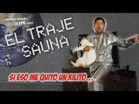 TRAJE SAUNA (astronauta o loco?)