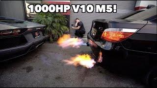 THE 1000HP V10 M5 THATS FASTER THAN A BUGATTI