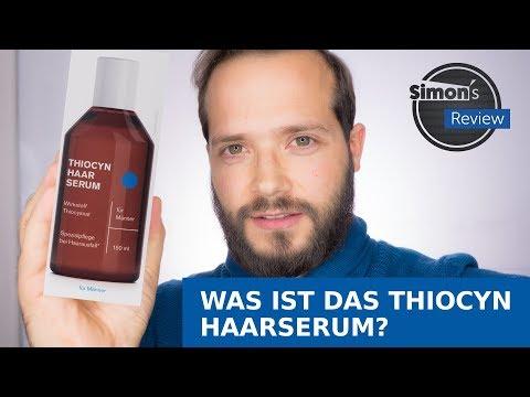 Mittel gegen Haarausfall? | Das Thiocyn Haarserum | Simon's Review