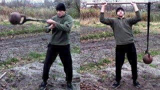 Как сделать в 100 раз тяжелее стандартную гирю!