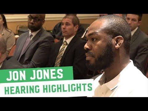 Jon Jones CSAC Hearing Highlights