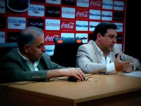 Conferencia de Prensa I Tema Campo de Deportes Jorge Newbery